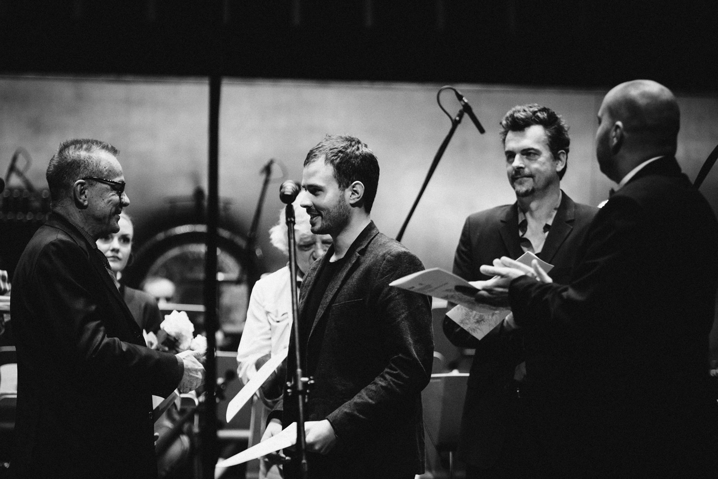 Lorenzo Ferrero, Wojciech Kostrzewa i Miłosz Bembinow Fot. Kinga Karpati&Daniel Zarewicz PRESTIGE PORTRAIT