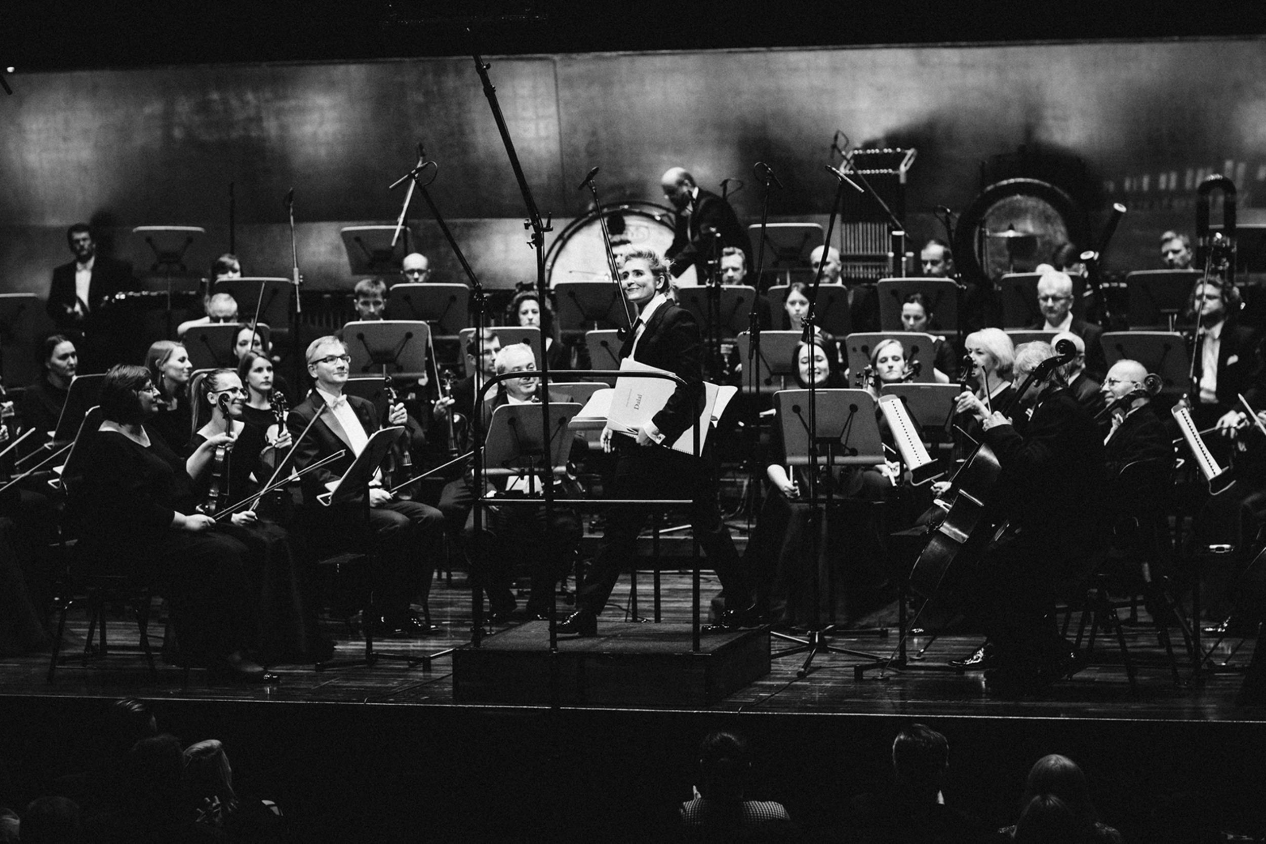 Patrycja Pieczara i Orkiestra Filharmonii im. M Karłowicza Fot. Kinga Karpati&Daniel Zarewicz PRESTIGE PORTRAIT
