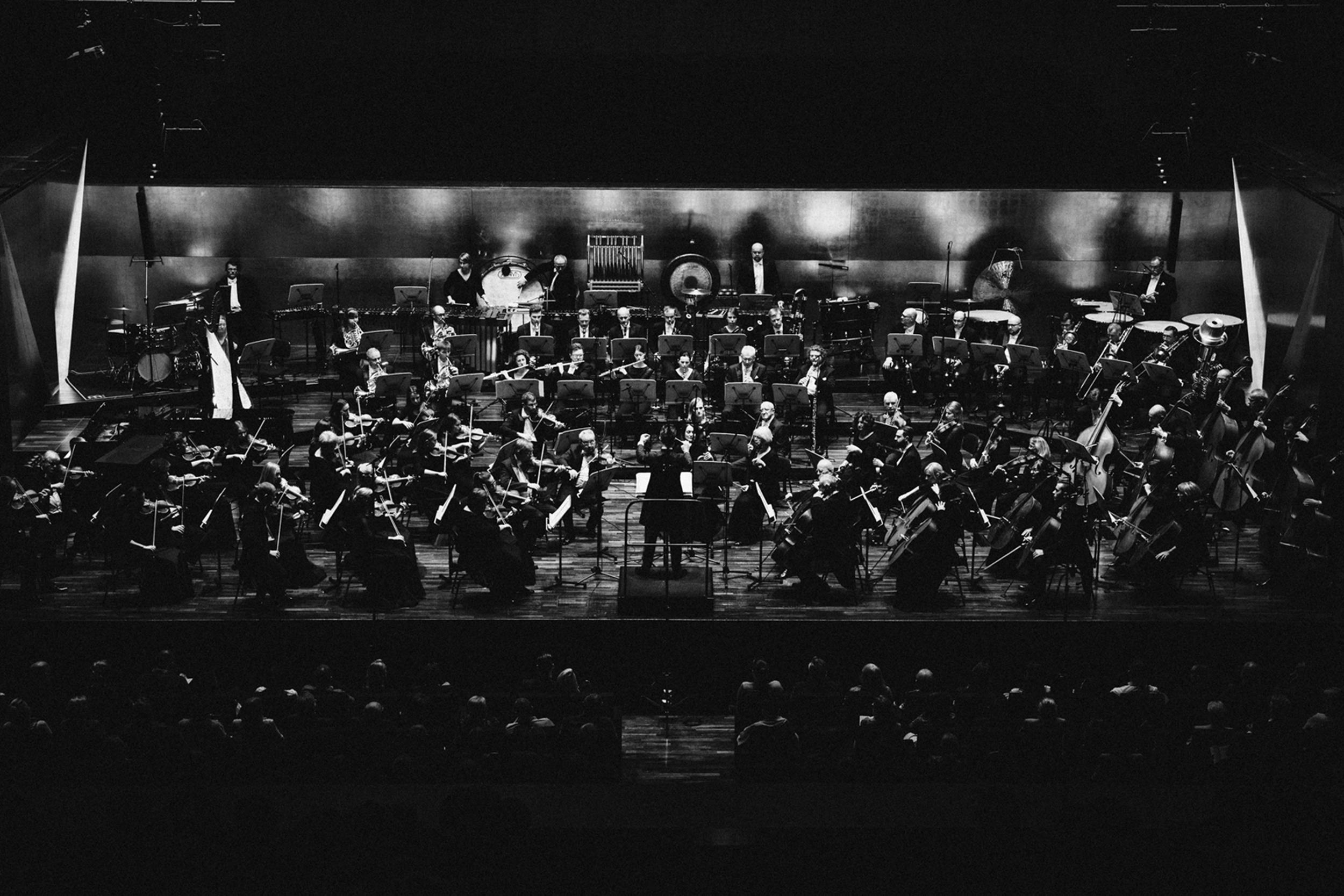 Orkiestra Filharmonii im. M Karłowicza w Szczecinie Fot. Kinga Karpati&Daniel Zarewicz PRESTIGE PORTR