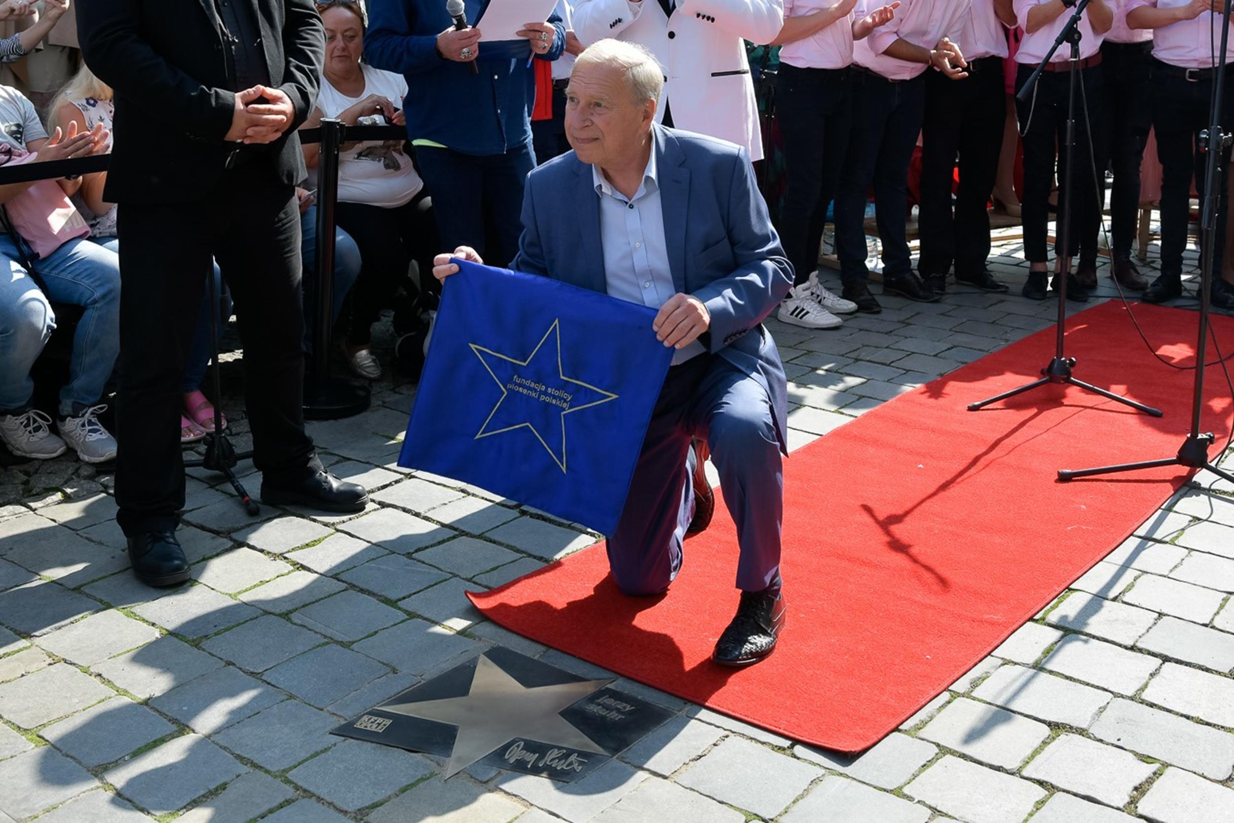 Jerzy Stuhr fot. Sławoj Dubiel