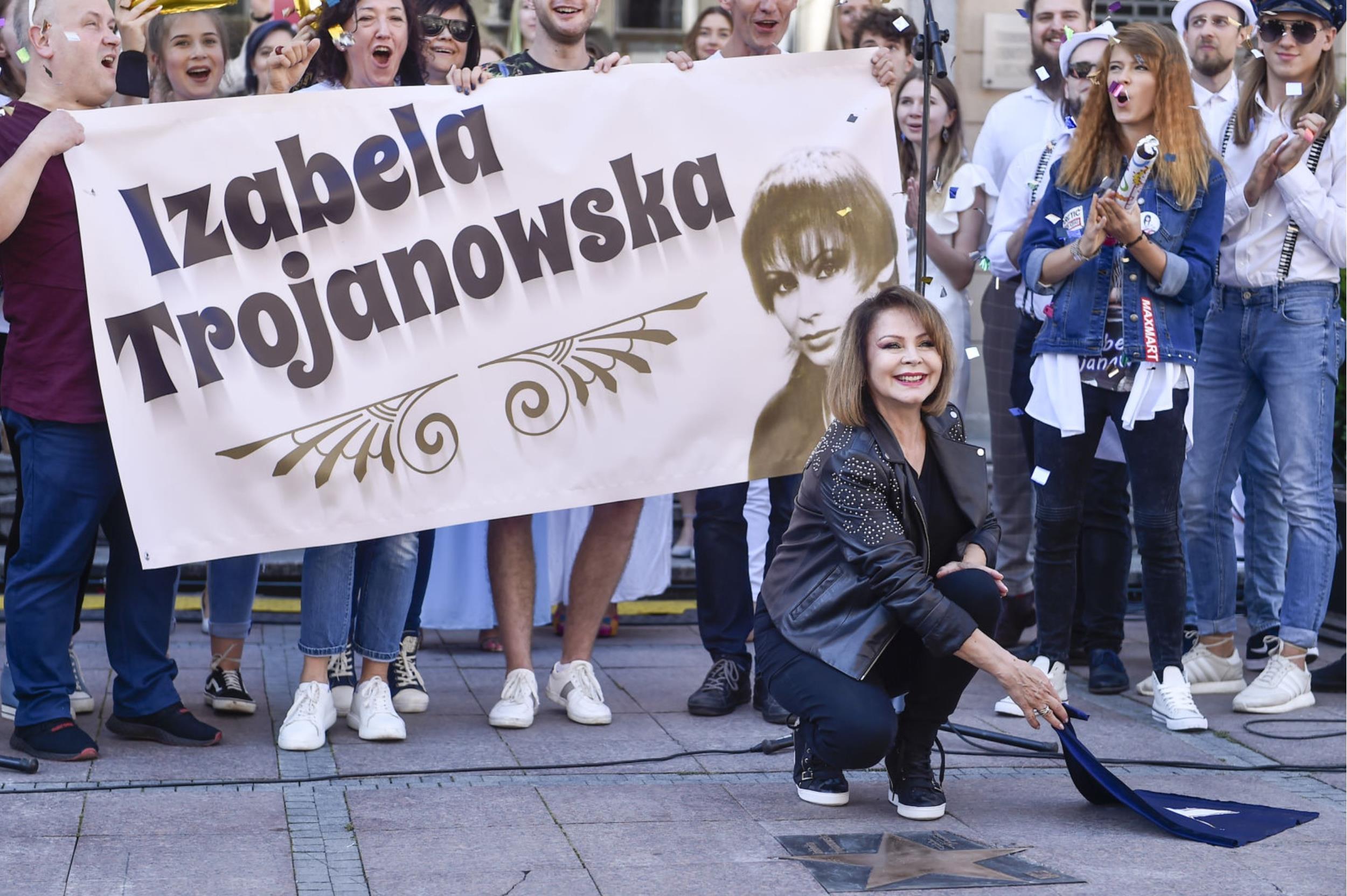 Izabela Trojanowska Fot Jacek Kurnikowski, Mieszko Piętka AKPA