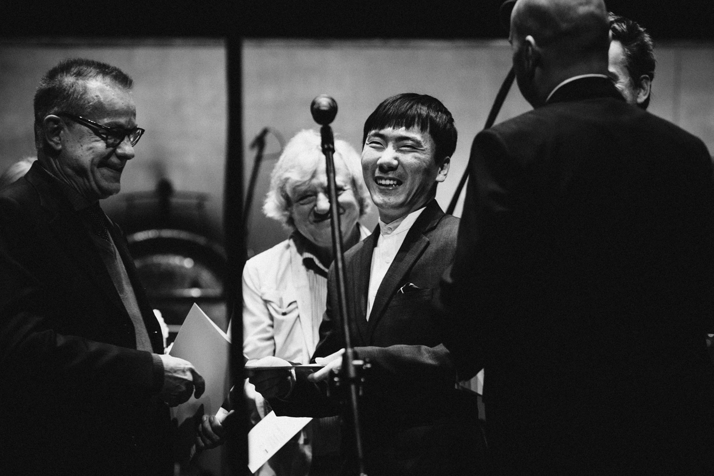 Lorenzo Ferrero, Stanisław Krupowicz i Eun Ho Chang Fot. Kinga Karpati&Daniel Zarewicz PRESTIGE PORTRAIT