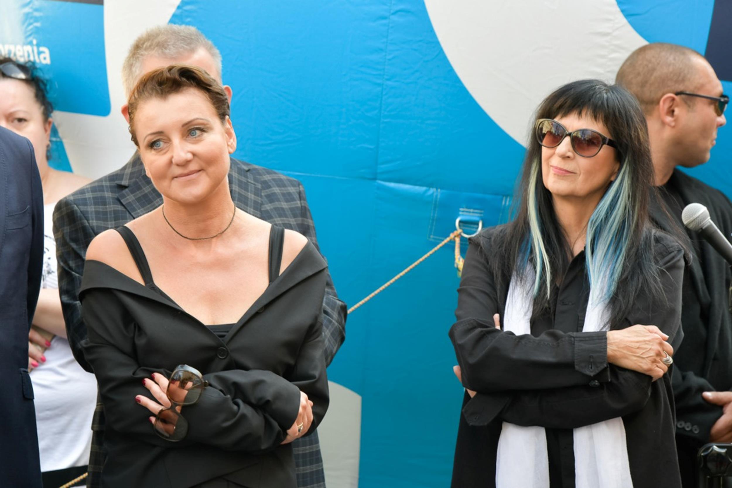 Katarzyna Wodecka, Wanda Kwietniewska fot. Sławoj Dubiel