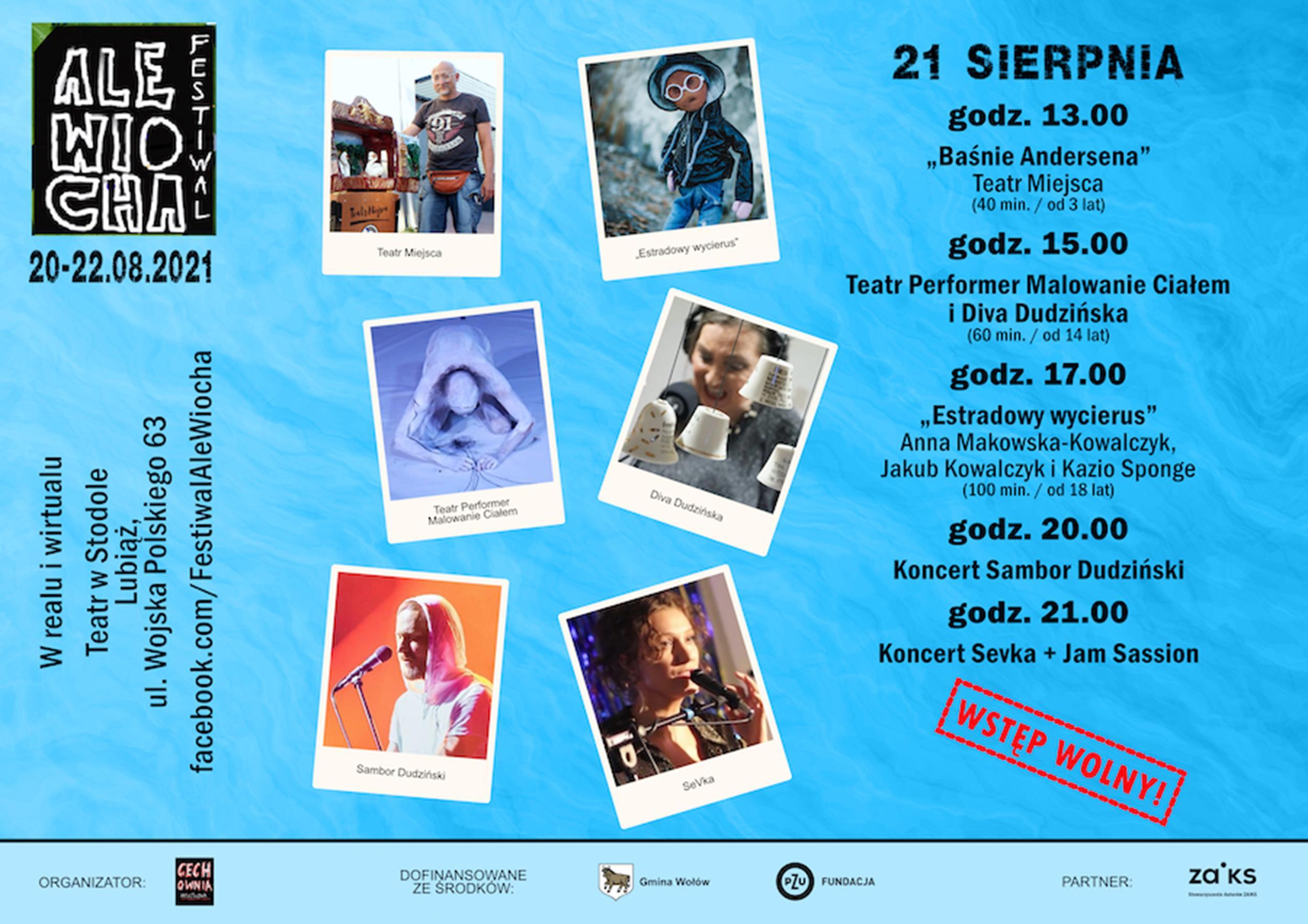 Festiwal Ale Wiocha 2021 Program (Dzień 2)