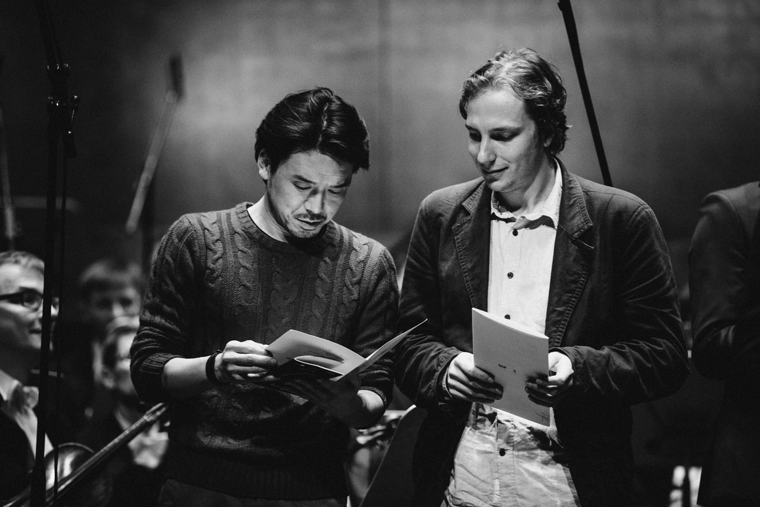 Masashi Kawashima i Otto Wanke Fot. Kinga Karpati&Daniel Zarewicz PRESTIGE PORTRAIT