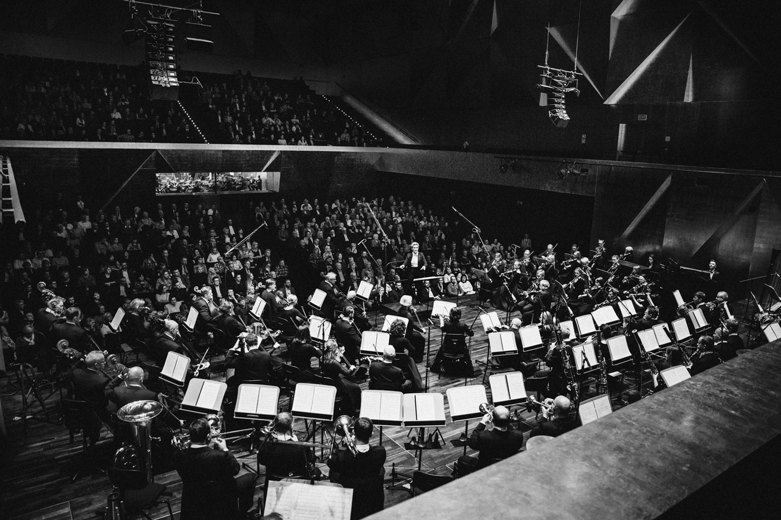 Orkiestra Filharmonii im. M. Karłowicza Fot. Kinga Karpati&Daniel Zarewicz PRESTIGE PORTRAIT
