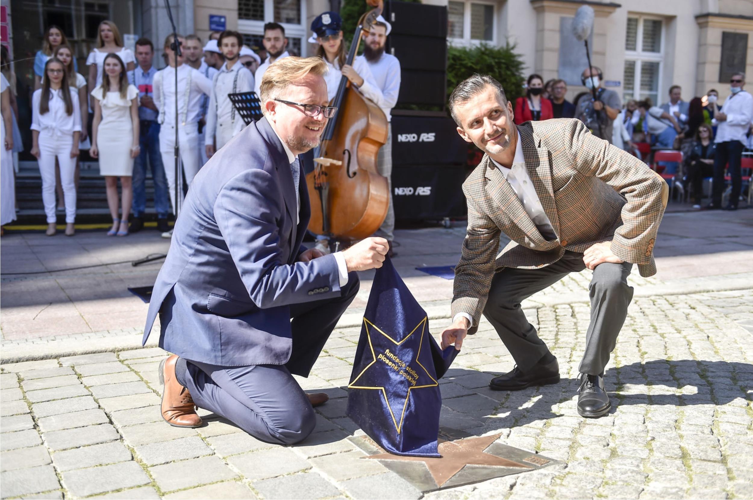 Maciej Wujec I Michał Fogg Fot Jacek Kurnikowski, Mieszko Piętka AKPA